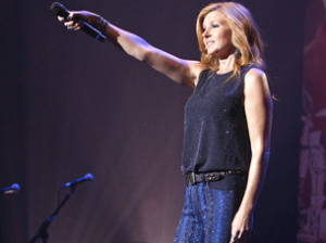 """The Best Songs Come From Broken Hearts""-Performed by Rayna James (Connie Britton)"