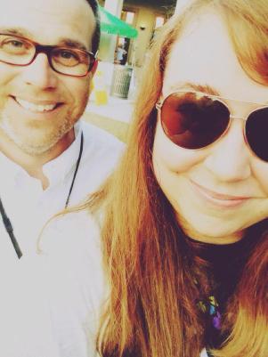 It's a Ric Rush selfie!